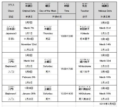 日本語講座休講情報20190305.jpg
